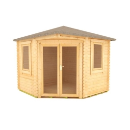 The Bengal Corner - 28mm Log Cabin - 10Ft Length x 10Ft Width