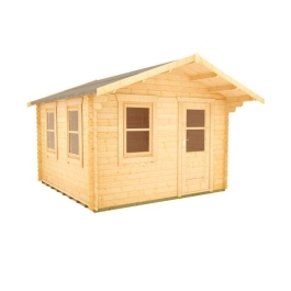 The Caspian - 28mm Log Cabin - 14Ft Length x 12Ft Width