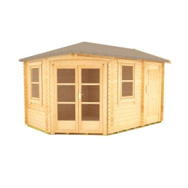 The Vibrissa - 28mm Log Cabin - 14Ft Length x 10Ft Width