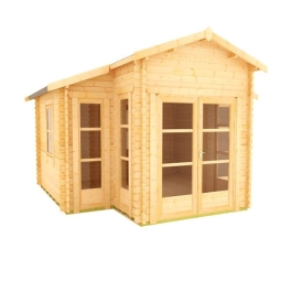 The Carnivora - 44mm Log Cabin - 14Ft Length x 14Ft Width