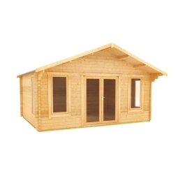 The Shere - 44mm Log Cabin - 14Ft Length x 18Ft Width