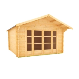 The Siberian - 44mm Log Cabin - 10Ft Length x 16Ft Width