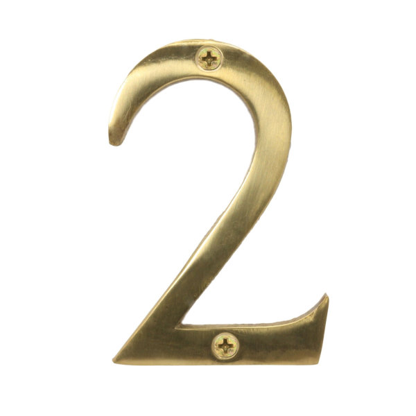 Door Number 2 - Georgian Brass - (045430N)