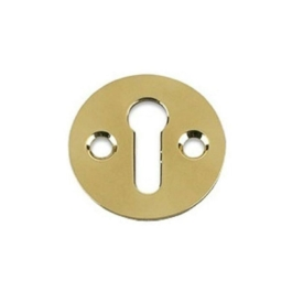 Door Escutcheon - Victorian - Polished Brass - (VB14P)