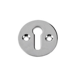 Door Escutcheon - Victorian - Chrome Plated - (VBC14P)