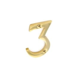 Door Number 3 - Georgian Brass - (045447N)
