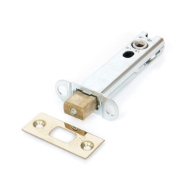Bathroom Deadbolt 75mm - Satin