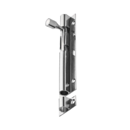 Door Bolt 76mm - Satin Aluminium - (002587N)