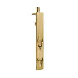 Flush Bolt - 100mm x 19mm - Brass - (VB65P)