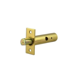 Security Door Bolt 60mm - Polished Brass - (045324N)