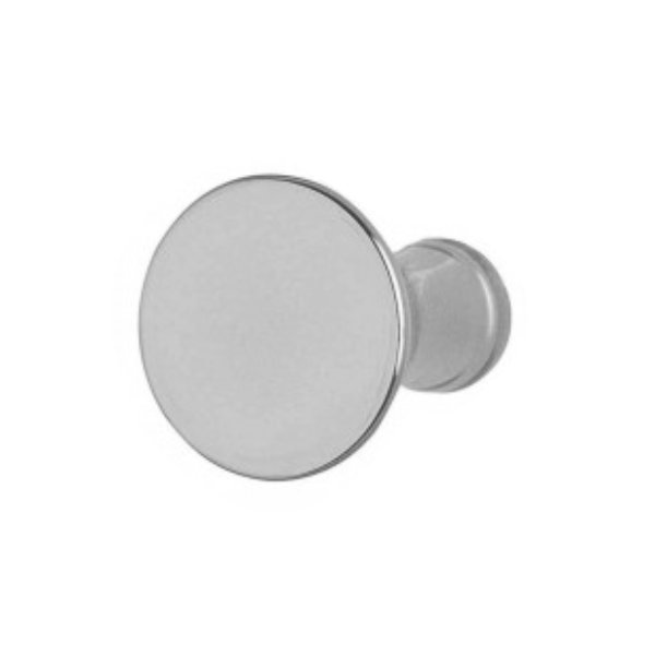 Cabinet Knob - Classic 30mm - Satin Nickel - (Pack of 6) - (HA0727D)