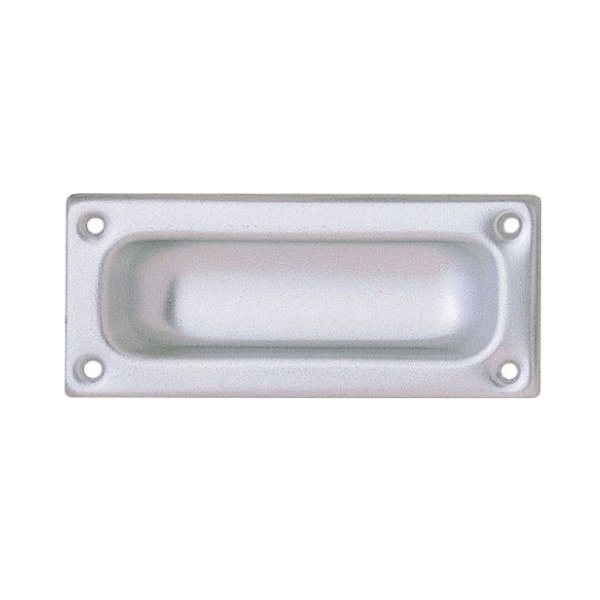 Flush Pull Handle 90mm - Silver - (MI78P)
