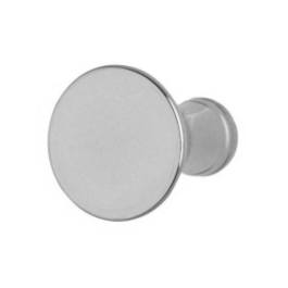 Cabinet Knob - Classic 38mm - Satin Nickel - (Pack of 6) - (HA0729D)