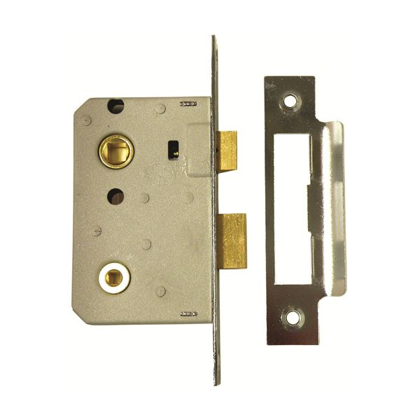 ERA Bathroom Sashlock 65mm - Chrome - (243-62)