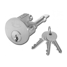 Sterling Replacement Cylinder for Nightlatch - Stainless Steel