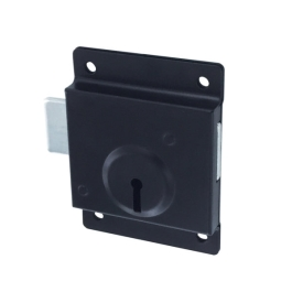Gate Mate Presslock 75mm - Black