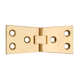 Counter Flap Hinges - Polished Brass - (Pack of 2) - (CH139P)