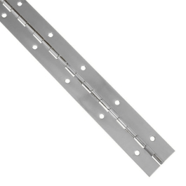 Piano Hinge 6Ft - Chrome