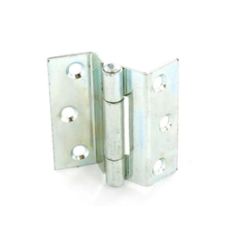 Stormproof Hinges 63mm - Brass Plated-  (Pack of 2) - (003621N)