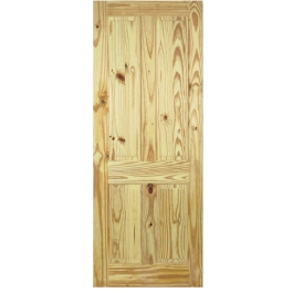 Knotty Pine Door - 4 Panel - All Sizes