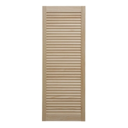 Louvre Door - Clear Pine - 1219mm High x 457mm Wide
