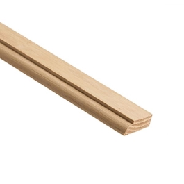 Oak Doorstop - 2.4Mt x 34mm x 12mm - (OM020)