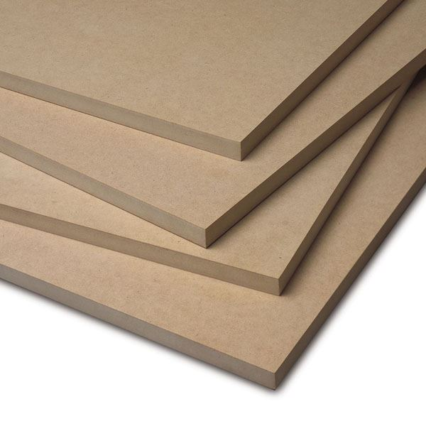 MDF Fibreboard Sheet - 18mm x 3Ft x 2Ft