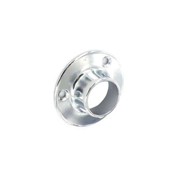 Centurion Wardrobe Rail Sockets 25mm - Chrome (2)