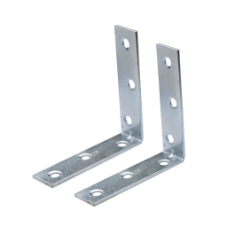 Corner Braces 38mm - Zinc Plated - (Pack of 2) - (003065N)