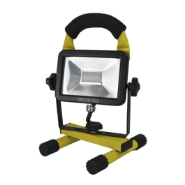 Faithfull Portable LED Site Light - 240 Volt