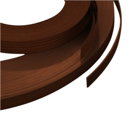 Iron-On Edging Trim 10Mt - Tobacco Walnut