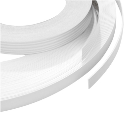 Iron-On Edging Trim 2.5Mt - White - (004871N)