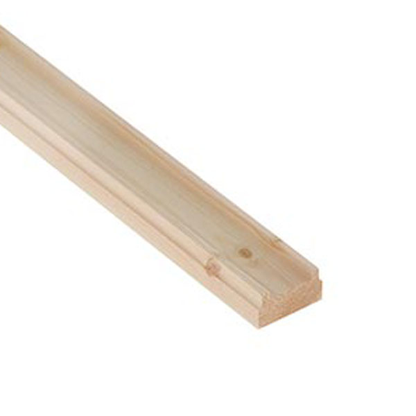 Pine Base Rail - 2.4Mt x 32mm