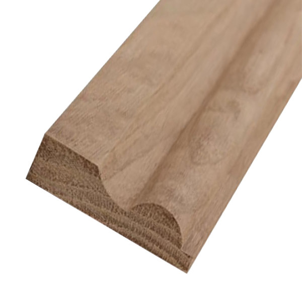American Oak Torus Skirting - 25mm x 125mm