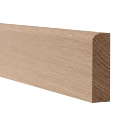 American Oak Pencil Round - 25mm x 50mm - Per Metre