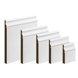 MDF Ogee Skirting - 18mm x 120mm - Per Metre