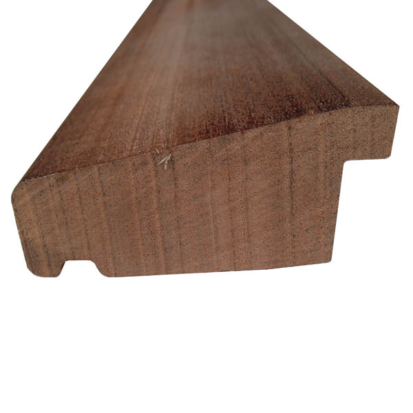 Red Hardwood Cill Extension - 75mm x 38mm - Per Metre