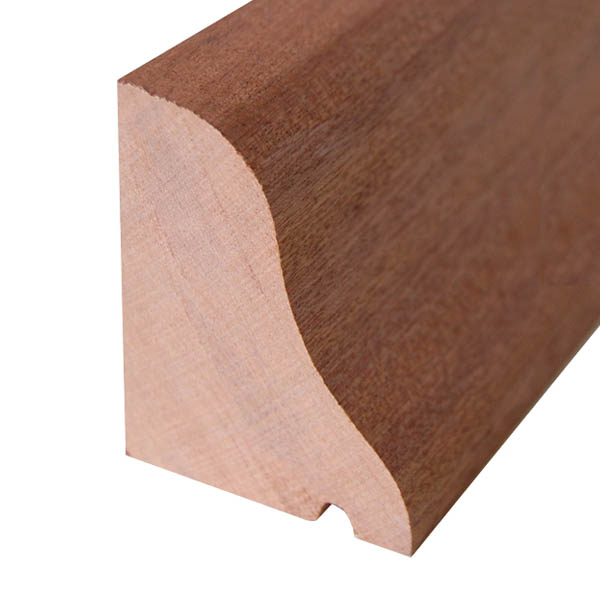 Red Hardwood Drip Mould - 25mm x 38mm - Per Metre