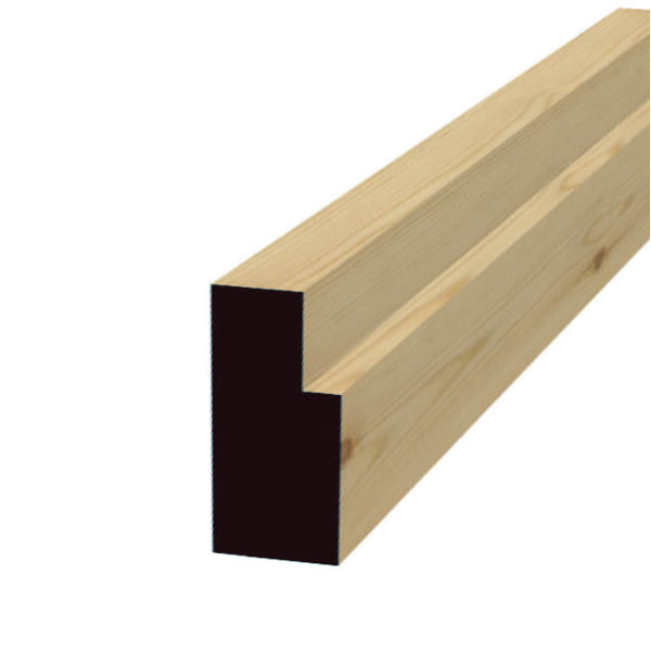 Softwood Door Frame - 63mm x 88mm - Per Metre