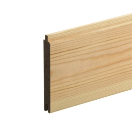 Softwood Matchboard - V One Side - Ex 19mm x 100mm - Per Metre