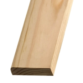 Softwood Pencil Rounded Skirting - 19mm x 100mm - Per Metre