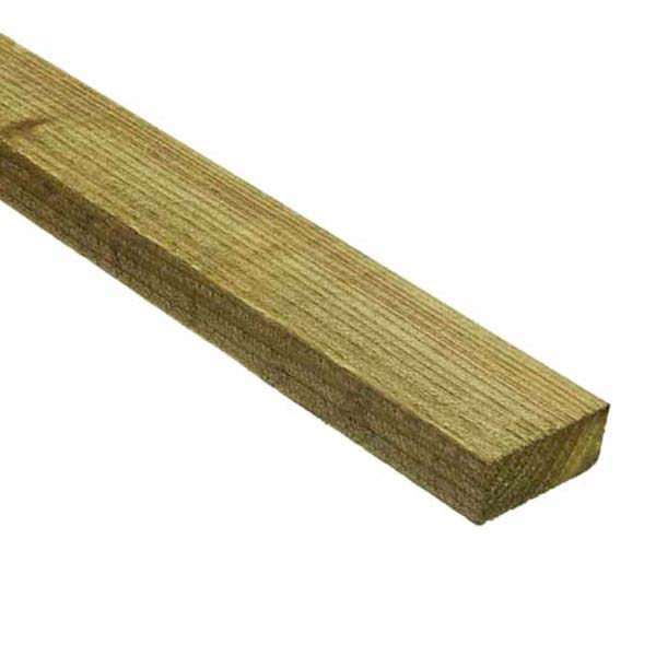 Treated Softwood Slate Lath - 19mm x 38mm - Per Metre