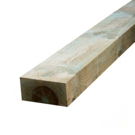 Railway Sleeper - 100mm x 200mm x 2.4Mt - Green