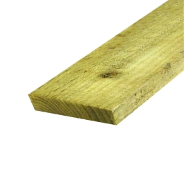 Treated Rail - 22mm x 150mm x 3.6Mt