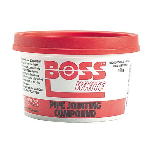 Boss White - Pipe Jointing Compound 400g