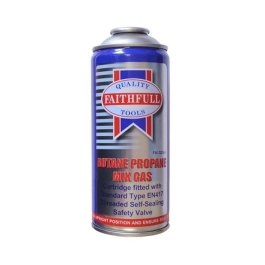Faithfull Butane / Propane Mix Gas 350g