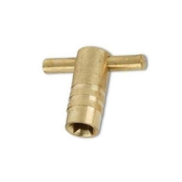 Radiator Key - Brass - (Pack of 2) - (313708)