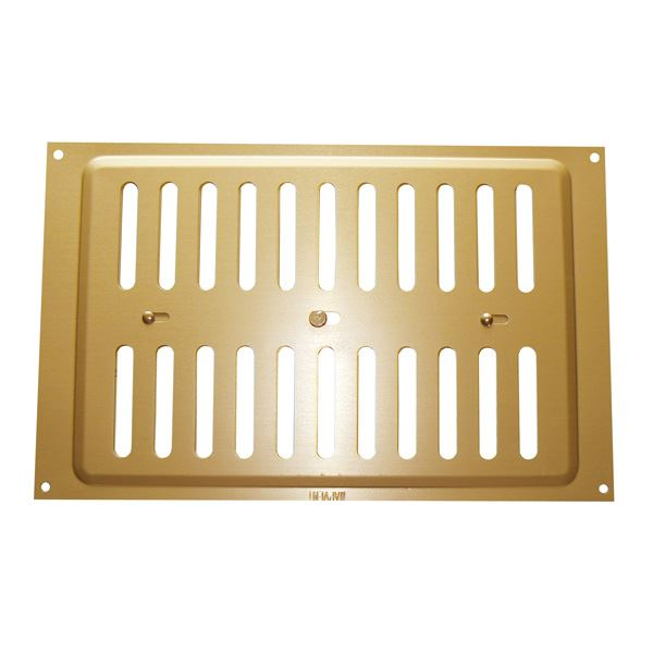 "Hit & Miss Vent - Gold - 9"" x 6"""
