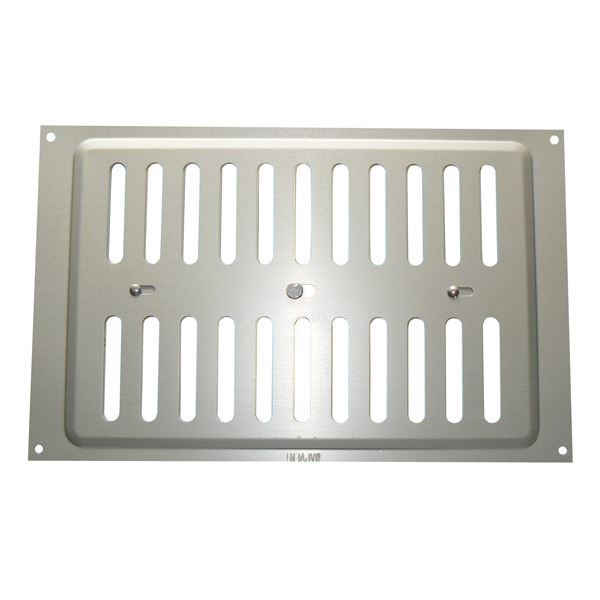 "Hit & Miss Vent - Silver - 9"" x 6"""