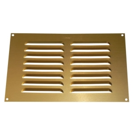 "Louvred Vent - Gold - 9"" x 3"""